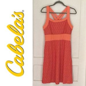 Cabela's Orange Sundress M